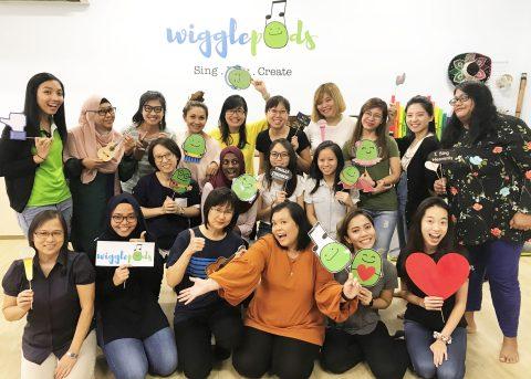 one@ECDA Workshops - Early Childhood Programme | Wigglepods Pte Ltd