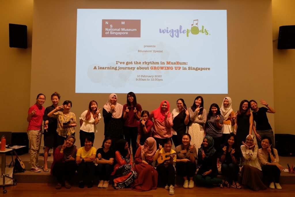 I've Got the Rhythm in MusEum: A Learning Journey about 'GROWING UP' in Singapore